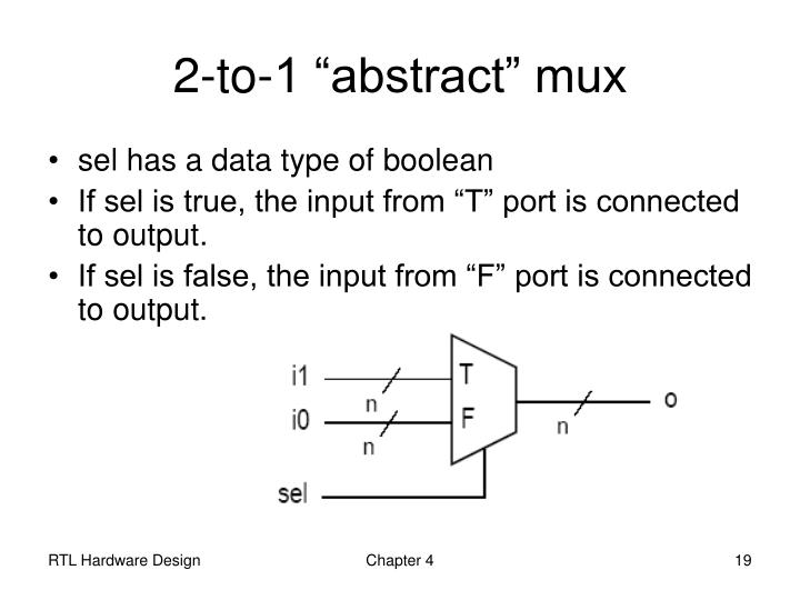 "2-to-1 ""abstract"" mux"