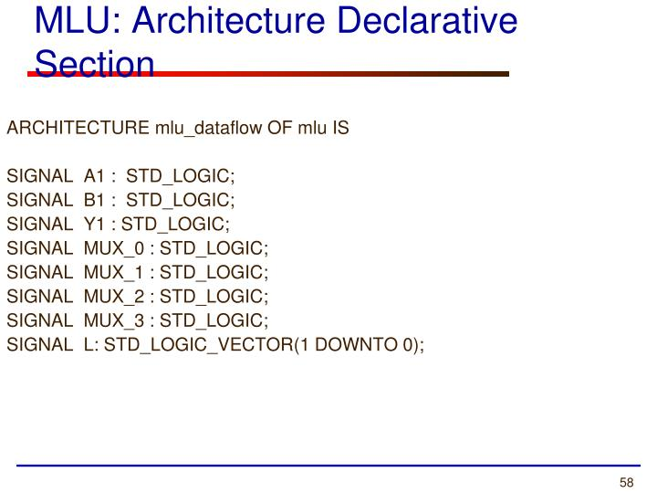 ARCHITECTURE mlu_dataflow OF mlu IS