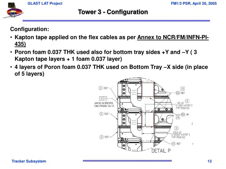 Tower 3 - Configuration