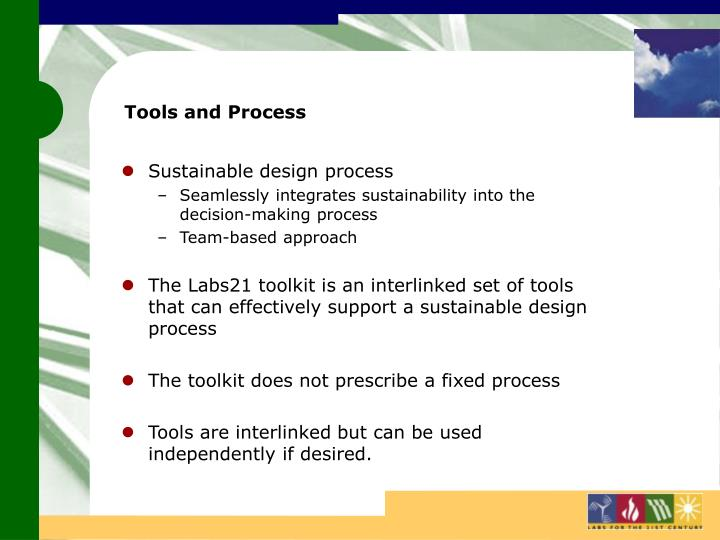 Tools and Process