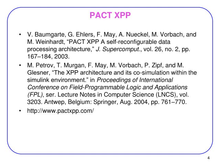 PACT XPP