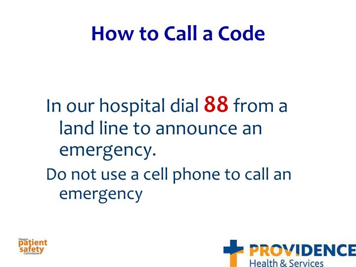 How to Call a Code