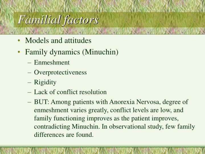 Familial factors