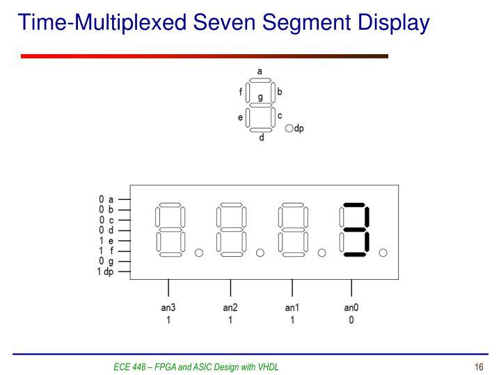 Time-Multiplexed Seven Segment Display