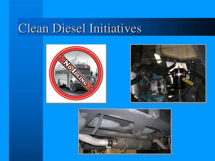 Clean Diesel Initiatives