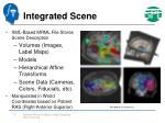 integrated scene