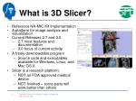 what is 3d slicer