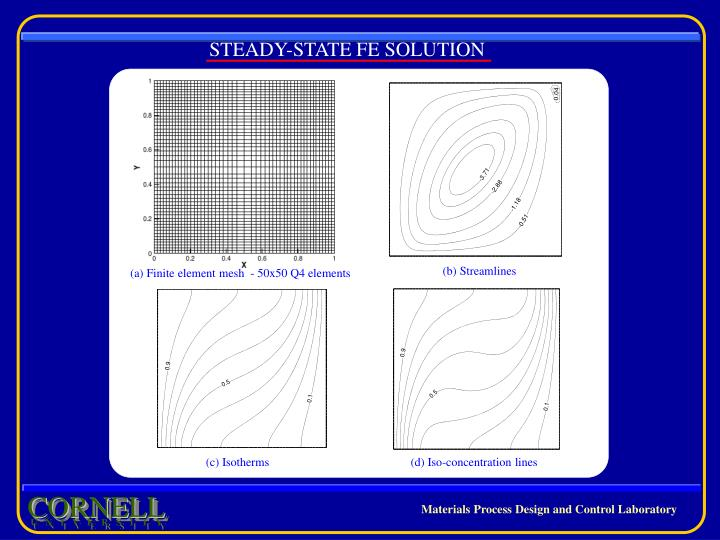 STEADY-STATE FE SOLUTION