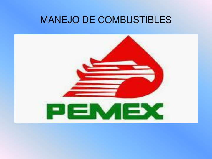 MANEJO DE COMBUSTIBLES