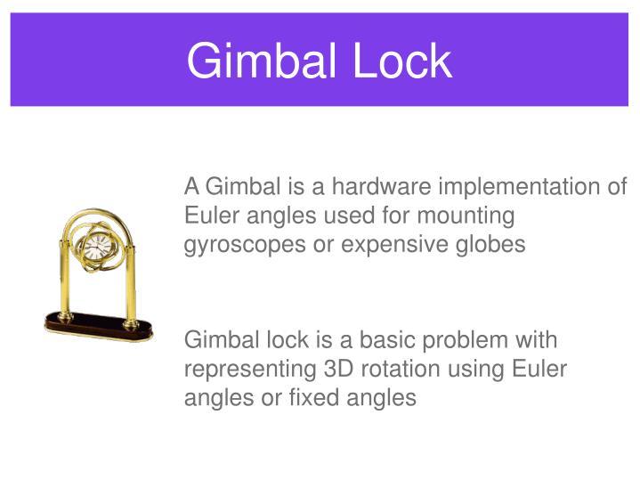 Gimbal Lock