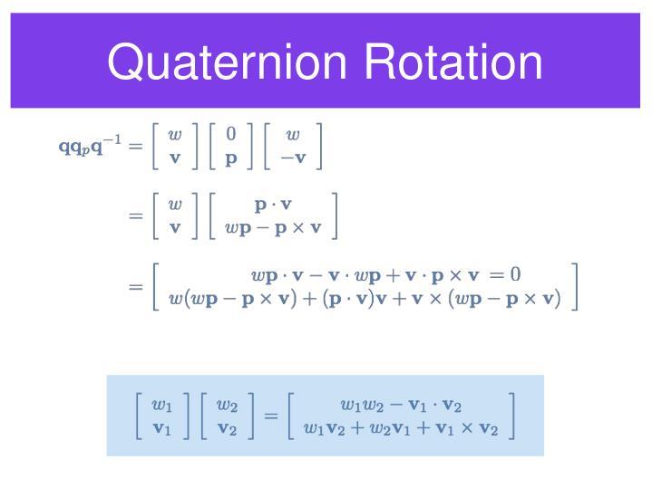 Quaternion Rotation
