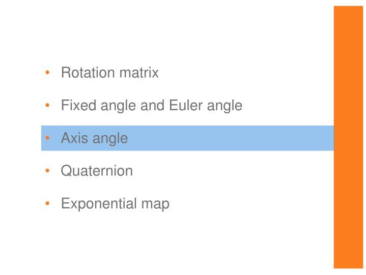 Rotation matrix