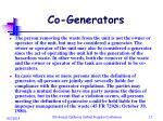 co generators