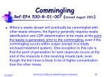 commingling ref epa 530 r 01 007 revised august 2001