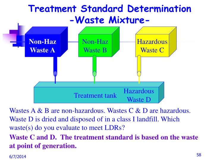 Treatment Standard Determination