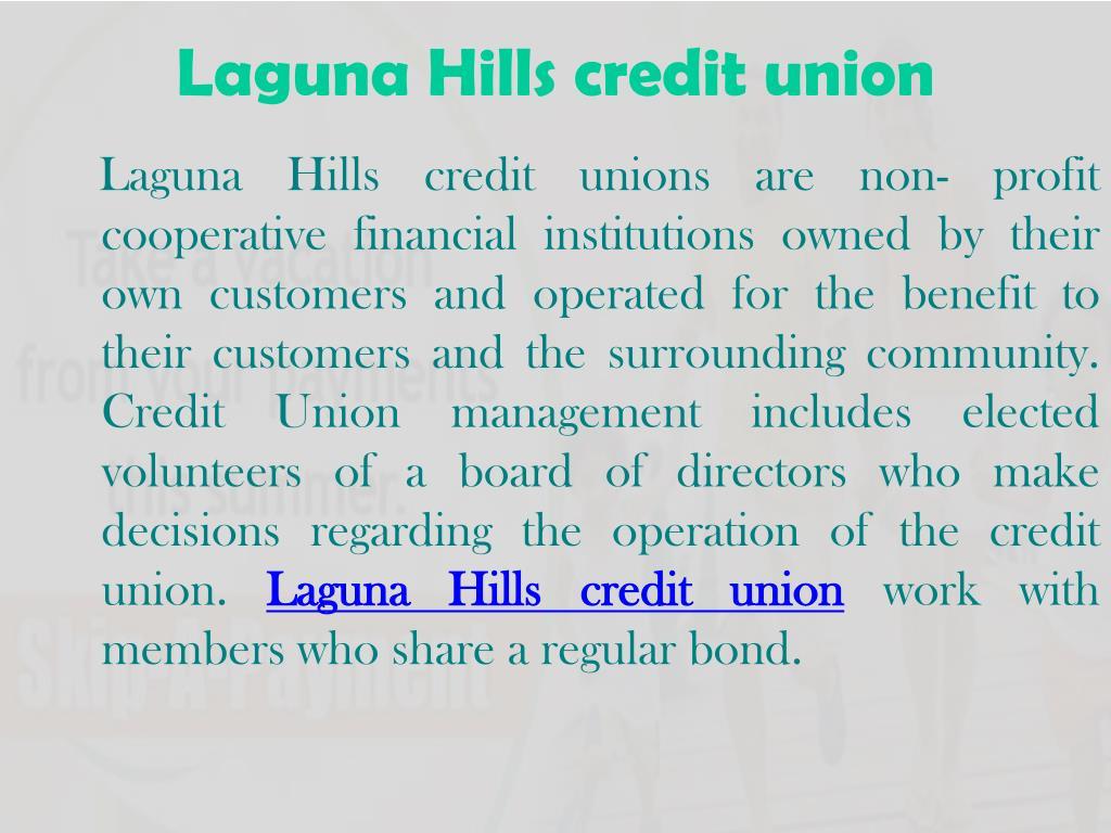 Laguna Hills credit union