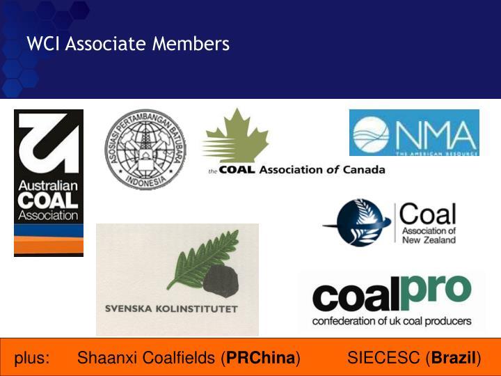 WCI Associate Members