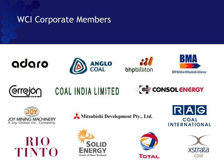 WCI Corporate Members