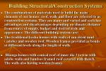 building structural construction systems