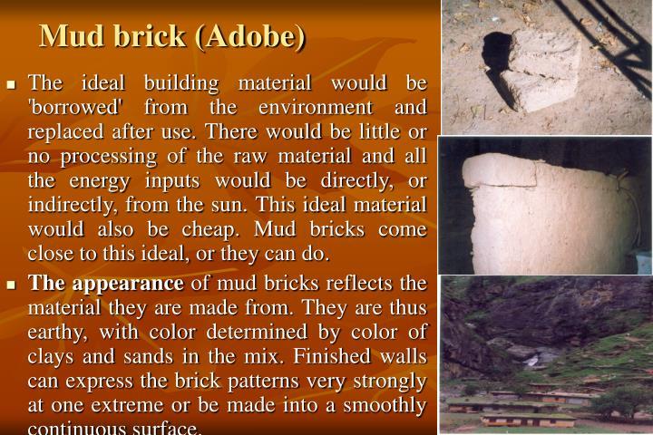 Mud brick (Adobe)