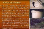 mud brick adobe