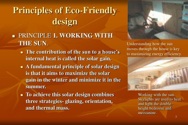 Principles of Eco-Friendly design