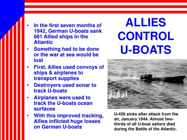 ALLIES CONTROL    U-BOATS