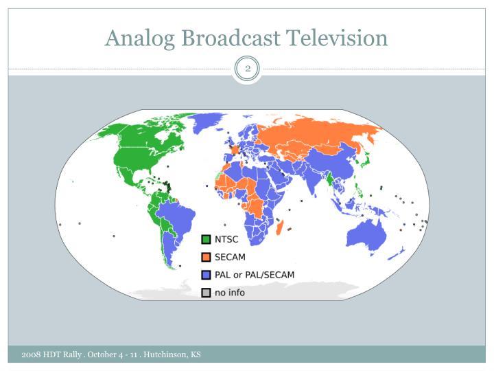Analog Broadcast Television