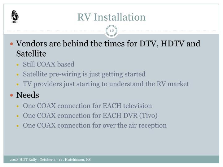 RV Installation