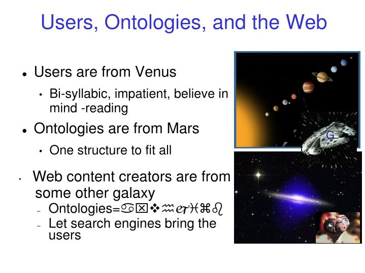 Users, Ontologies, and the Web
