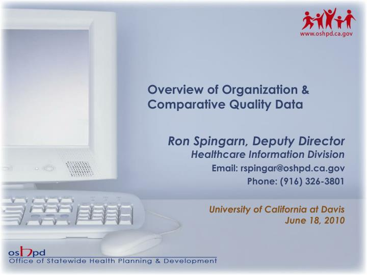 Overview of Organization &
