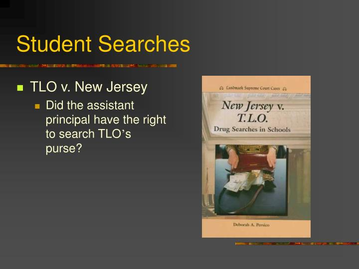 Student Searches