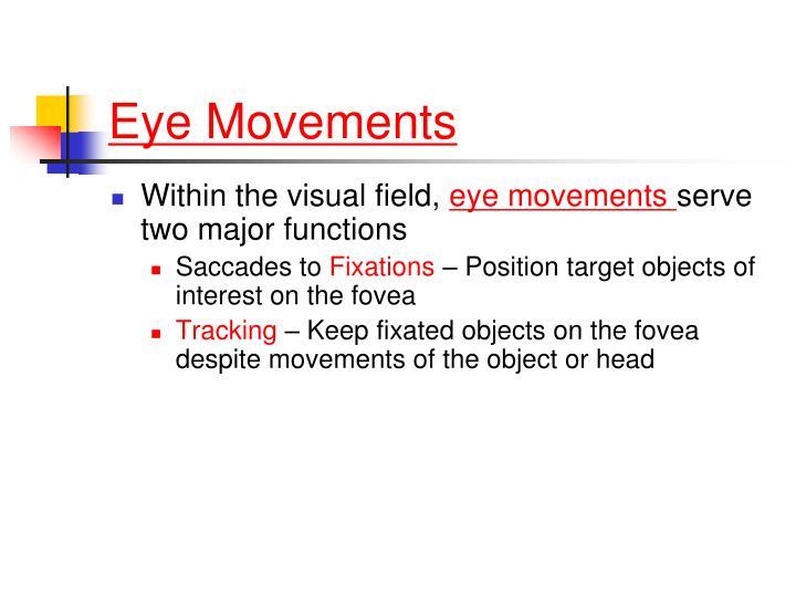 Eye Movements