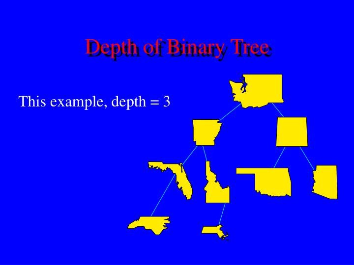 Depth of Binary Tree