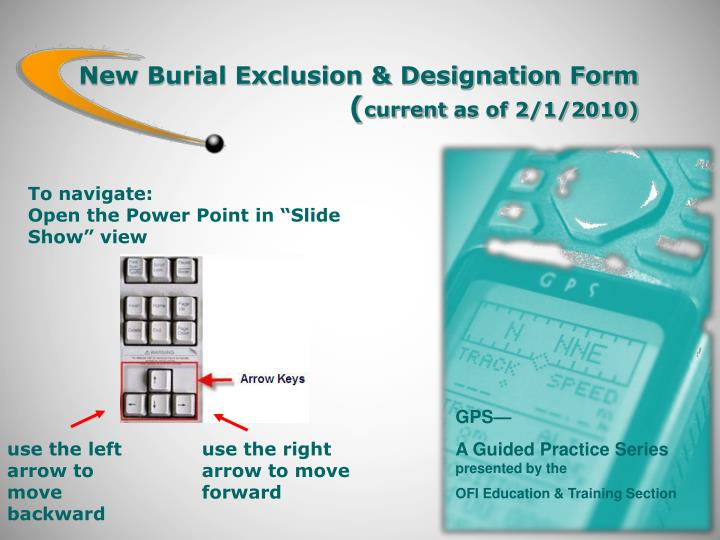 New burial exclusion designation form current as of 2 1 2010