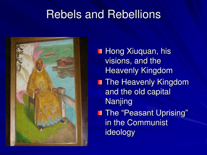 Rebels and Rebellions