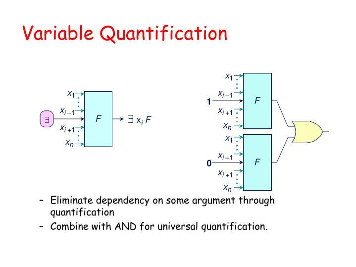 Variable Quantification