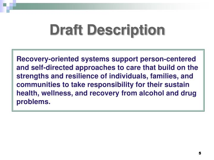 Draft Description