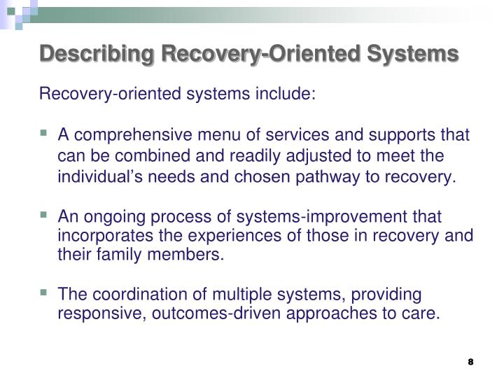 Describing Recovery-Oriented Systems