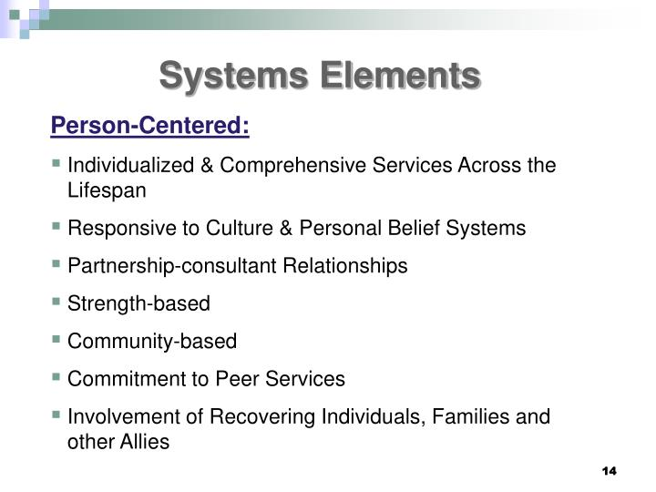 Systems Elements