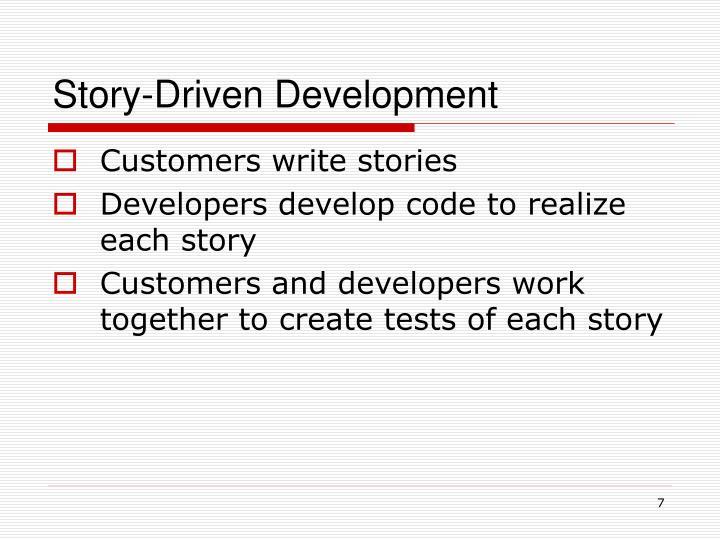 Story-Driven Development