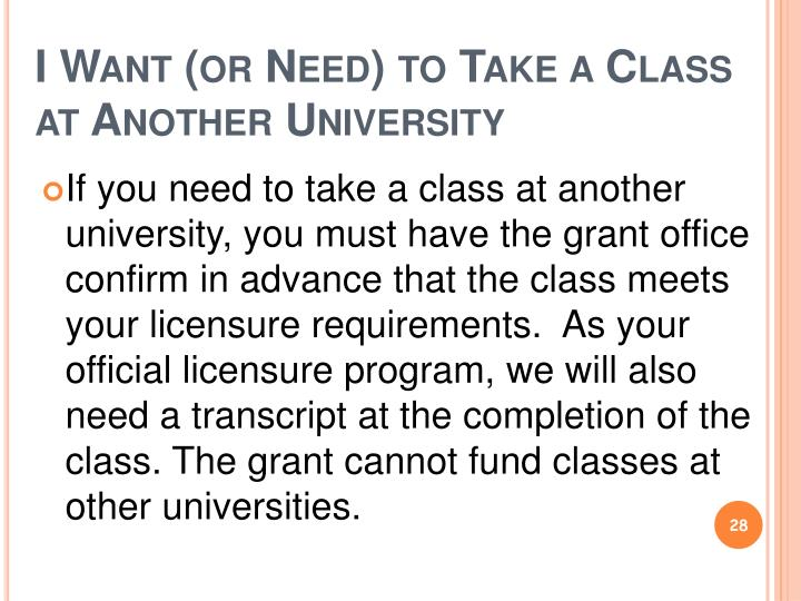 I Want (or Need) to Take a Class at Another University