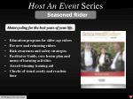 host an event series3