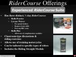 ridercourse offerings1