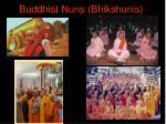 buddhist nuns bhikshunis