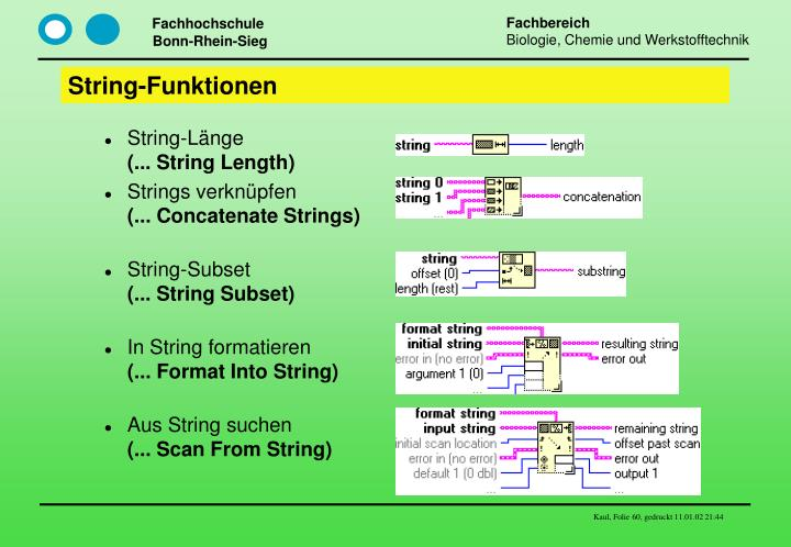 String-Funktionen