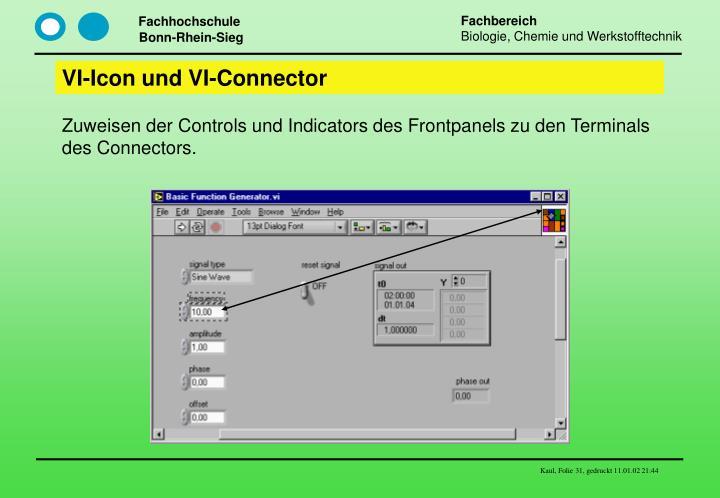 VI-Icon und VI-Connector