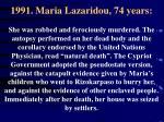 1991 maria lazaridou 74 years