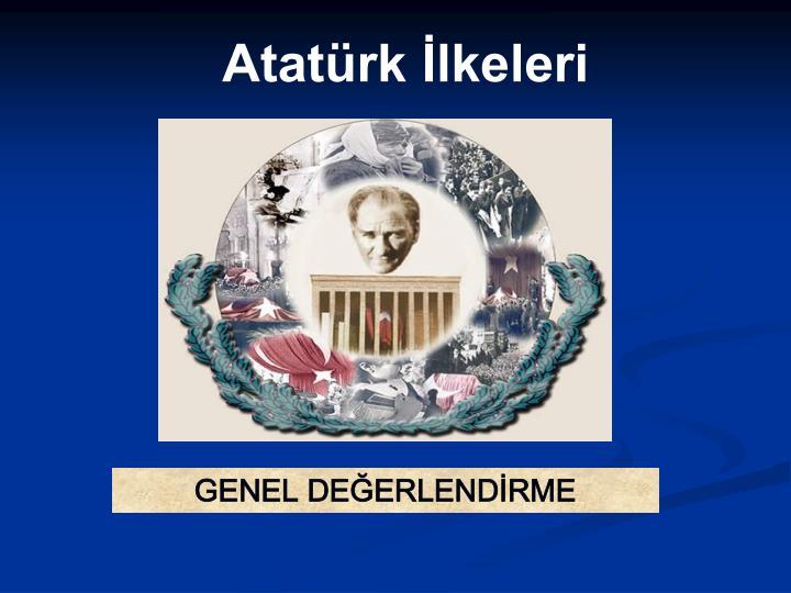 Atatürk İlkeleri