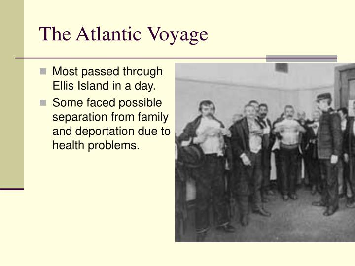 The Atlantic Voyage